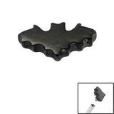 view all Black Steel Bat for Internal Thread shafts in 1.2mm (0.9mm) body jewellery