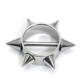 Nipple Rounders with Barbells Spikey Nipple Rounder. Steel barbell included.
