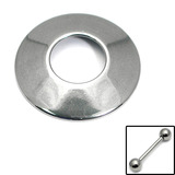 Nipple Shields Volcano Nipple Shield. Central hole diameter is 12.5mm. 1.6x14mm Steel barbell is NOW included.