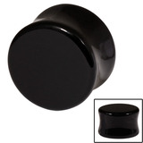 Acrylic Tapered Plug 18 / Black
