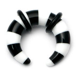 Acrylic Candy Crescent Stretchers 6 / black