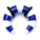 Acrylic Candy Crescent Stretchers 6 / blue