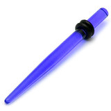 Acrylic Plain Stretcher - Straight 1.6-9mm 1.6 / Blue