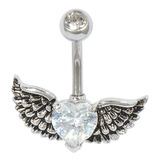 Belly Bar - Winged Heart Default