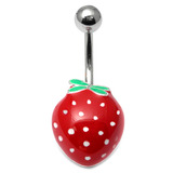 Belly Bar - Strawberry 1.6mm, 10mm