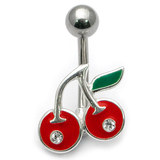 Belly Bar - Jewelled Cherry Default