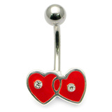 Belly Bar - Entwined Heart Default