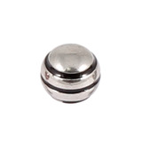 Steel Threaded Attachment - 1.2mm and 1.6mm Saturn Ball 1.2 / black / 4