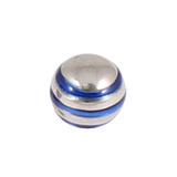 Steel Threaded Attachment - 1.2mm and 1.6mm Saturn Ball 1.6 / blue / 5