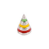 Steel Threaded Attachment - 1.2mm and 1.6mm Saturn Cone - SKU 12398
