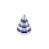 Steel Threaded Attachment - Saturn Cone 1.2 / 4 / blue