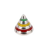 Steel Threaded Attachment - 1.2mm and 1.6mm Saturn Cone - SKU 12406