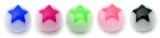 Acrylic 5 Star Balls 5