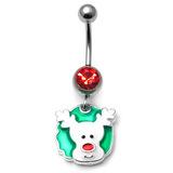Belly Bar - Christmas (XMAS) XMAS-7 - Rudolph