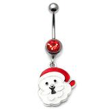 Belly Bar - Christmas (XMAS) XMAS-9 - Santa