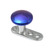 Titanium Dermal Anchor with Titanium Smooth Disk Top - SKU 13892