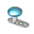 Titanium Dermal Anchor with Titanium Smooth Disk Top - SKU 13893