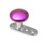 Titanium Dermal Anchor with Titanium Smooth Disk Top - SKU 13894