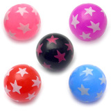 Acrylic Multi-star ball - SKU 14378