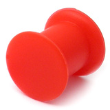 Silicone Plug 4-20mm 8 / red