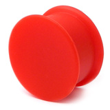 Silicone Plug 4-20mm 16 / red