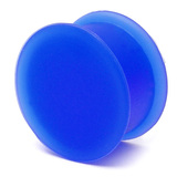 Silicone Plug 4-20mm 14 / blue
