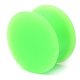 Silicone Plug 4-20mm 18 / green