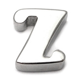 Steel Threaded Attachment - 1.6mm Cast Steel Alphabet 1.6 / Letter Z  (1.6mm) (casting only)