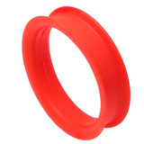 Silicone Tunnel 42-50mm 46 / red
