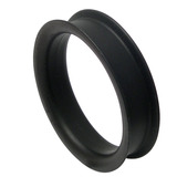 Silicone Tunnel 42-50mm 46 / black