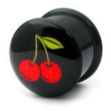 Acrylic Logo Plugs 6-14mm - SKU 15559