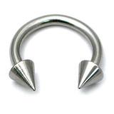 Steel Coned Circular Barbells (CBB) (Horseshoes) 1.6 / 6