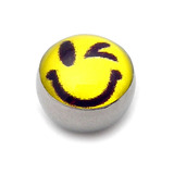 Steel Logo Balls - Pictures 1.6mm, 6mm, Winkie Smiley