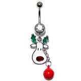 Belly Bar - Christmas (XMAS) XMAS-4 - Rudolph