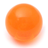 Acrylic Ball (Plain) 1.2mm, 4mm / Orange