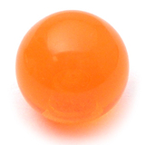Acrylic Ball (Plain) 1.6mm, 5mm / Orange