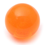 Acrylic Ball (Plain) 1.6mm, 6mm / Orange