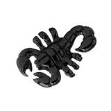 Black Steel Threaded Scorpion 1.6mm gauge, width is 12mm.