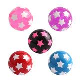 Acrylic Multi-Star Ball (NEW) - SKU 19063