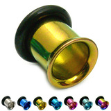 Titanium Flared Eyelets 8mm, Gold