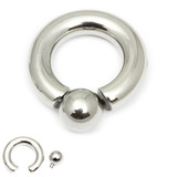 Steel BCR with Screw-in Ball 6mm, 16mm, (10mm)