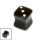 Acrylic Dice Plugs - SKU 19575