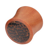 Organic Plug Saba Wood and Palm Wood (OG5) 14 / Saba Wood with Palm Wood