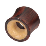 Organic Eyelet Tunnel Sono Wood with Crocodile Wood (OE8) 12