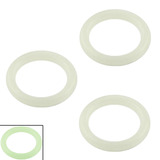 Replacement O Rings Glow in the Dark Replacement O rings for 8mm expanders and tunnels - PACK OF 3