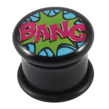 Acrylic Comic Plug BANG / 14