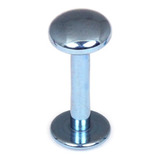 Titanium Labrets with Disk Top 1.6mm Gauge, 4mm Disk - SKU 20605