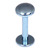 Titanium Labrets with Disk Top 1.6mm Gauge, 4mm Disk - SKU 20613