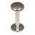Titanium Labrets with Disk Top 1.6mm Gauge, 4mm Disk - SKU 20614