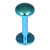 Titanium Labrets with Disk Top 1.6mm Gauge, 4mm Disk - SKU 20624